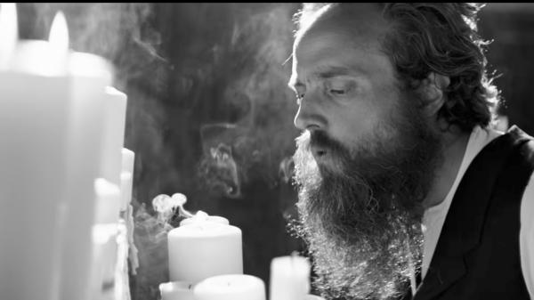 A still from Iron & Wine's new video, 'Thomas County Law.'