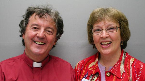 The Rev. Noel Hickie was working as a hospital chaplain when he met Marcia Hilton, a bereavement counselor at a hospital in Eugene, Ore. For 25 years they often worked together on hospice teams.