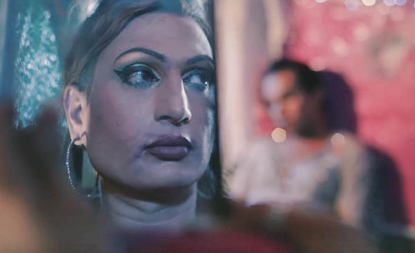 "A scene from ""Madam,"" a new music video by Pakistani singer Jimmy Khan."