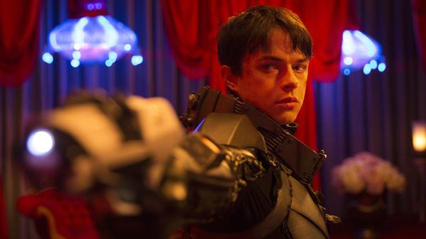 Dane DeHaan stars as Major Valerian in Luc Besson's <em>Valerian and the City of a Thousand Planets. </em>