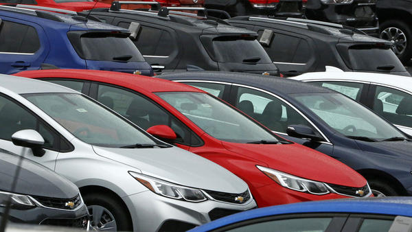 Cars on a dealer lot in Pittsburgh. Consumer spending helped drive economic growth in the 2nd quarter to more than double first quarter GDP.