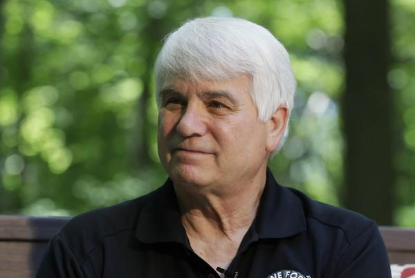 In a photo from Friday, June 9, 2017, former Army medic James McCloughan is interviewed in South Haven, Mich. An Army spokeswoman said Tuesday, June 13 that McCloughan, who saved the lives of 10 soldiers during the Battle of Nui Yon Hill in May 1969 in Vietnam, will become the first person to be awarded the nation's highest military honor by President Donald Trump. (Carlos Osorio/AP)