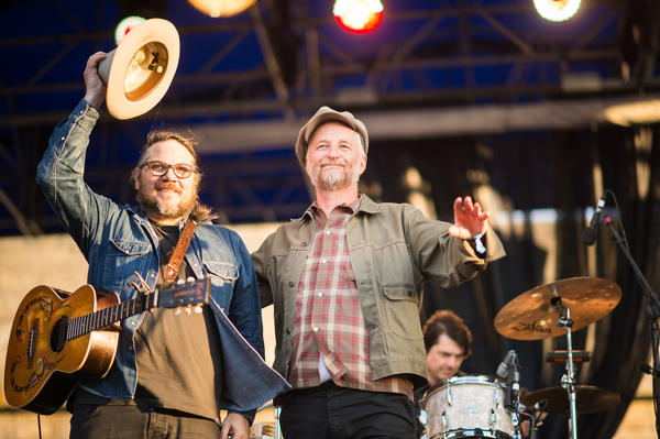 Wilco and Billy Bragg.
