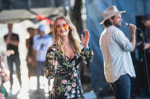 """""""Speak Out!"""" with Margo Price and Zach Williams."""