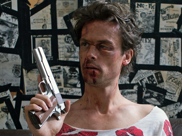 <em>68 Kill</em> stars Matthew Gray Gubler as Chip, a hapless schmo who gets more than he bargained for after he and his girlfriend plan to steal $68,000.