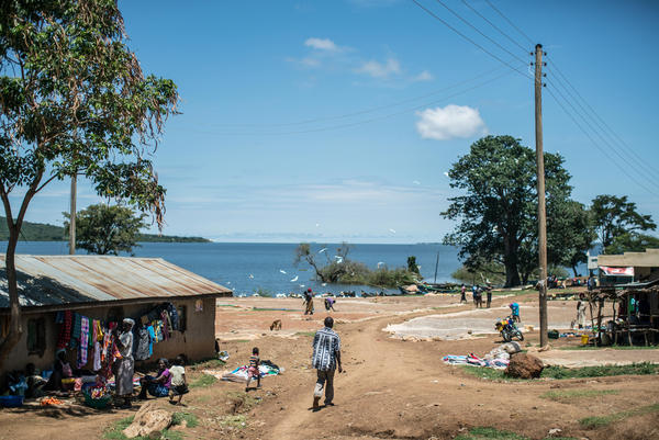 This hamlet, near Lake Victoria, is the first to participate in the cash distribution experiment. GiveDirectly plans to expand the payouts to 200 villages and compare them to 100 other villages that don't get the cash.