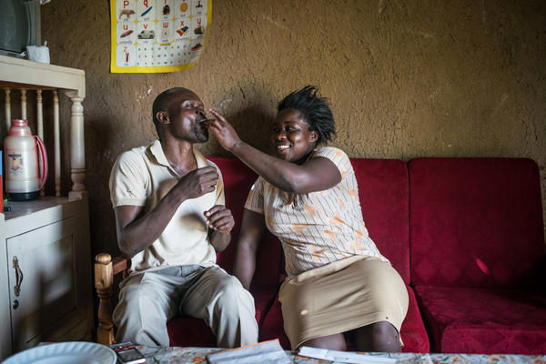"Figuring out how to spend the charity windfall has become a hopeful, joint project for Otieno and his wife, Bentah. And it's brought the fun back into their marriage, says Otieno. ""It's like we're married the other day."""