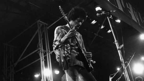 Jimi Hendrix is one of the musicians whose Native American heritage is discussed in the documentary <em>Rumble: The Indians Who Rocked the World.</em>
