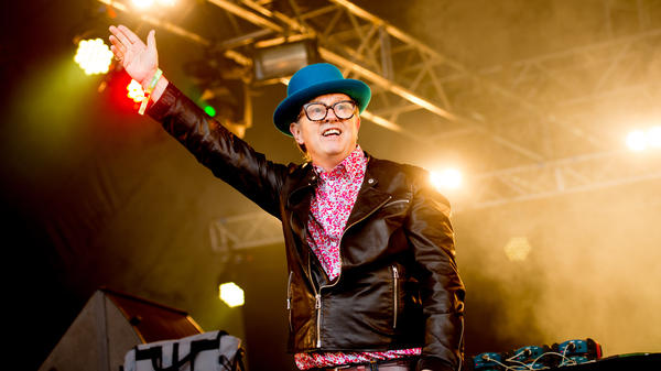 David Rodigan on July 15, 2016 in London, England. His autobiography, <em>My Life In Reggae</em>, was released earlier this year.