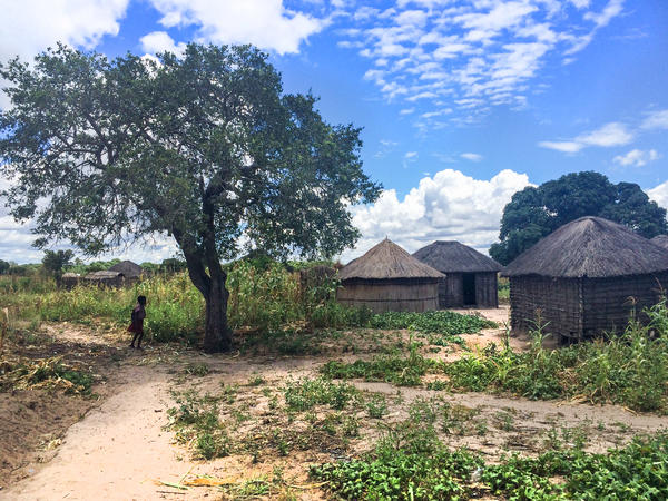 The village of Yuka is located in one of Zambia's poorest districts.