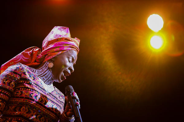 Angelique Kidjo lends her Grammy-winning voice to a new song that protests child marriage.