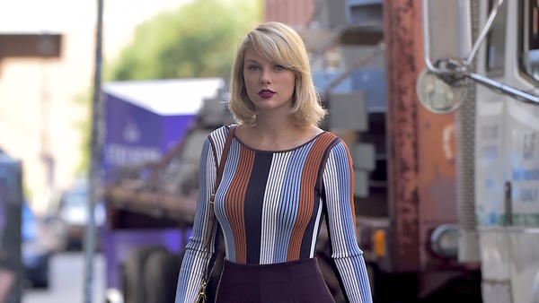 "Taylor Swift said of the former radio host whom she has accused of groping her: ""I'm being blamed for the unfortunate events of his life that are a product of his decisions."" A judge has thrown out the man's lawsuit against her."