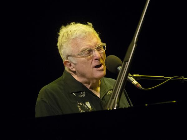 Randy Newman, performing at Glasgow Royal Concert Hall