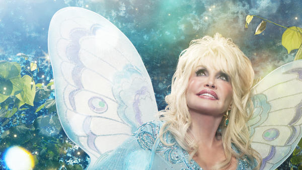 Extract from the cover of <em>I Believe In You</em>, Dolly Parton's upcoming album of original children's songs.