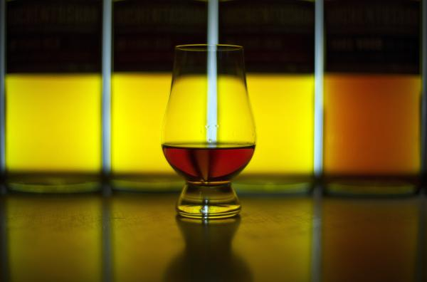 Single malt Scotch whisky, produced at the Auchentoshan distillery near Glasgow, Scotland, could benefit from a little water, a new paper suggests.