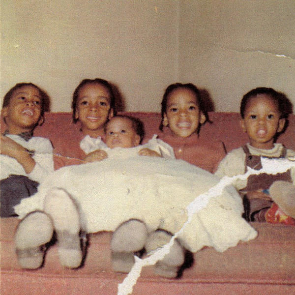 Francine Anderson (second from the right) and her siblings shortly after the night when her father's car ran out of gas and they had to stop at a white's-only gas station.