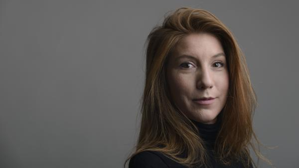 "Swedish journalist Kim Wall posed for this 2015 portrait in Trelleborg. After more than a week of questions, a statement released Monday acknowledged Wall died aboard Danish inventor Peter Madsen's submarine. Madsen, who is now being held on a manslaughter charge, says he subsequently ""buried her at sea,"" according to the statement."