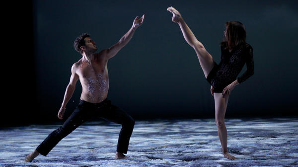 It Takes Tutu To Tango: Karl (Jeremie Belingard) and Polina (Anastasia Shevtsova) in <em>Polina.</em>