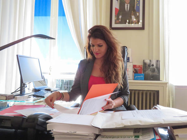 Unlike most French politicians, Schiappa grew up in public housing in a multi-ethnic, working-class Paris neighborhood.