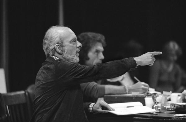 Hal Prince was in his 20s when began working on Broadway, as an unpaid assistant to director George Abbott. In his nearly 70-year career, Prince has won 21 Tony awards. He's shown above in New York in November 1974.