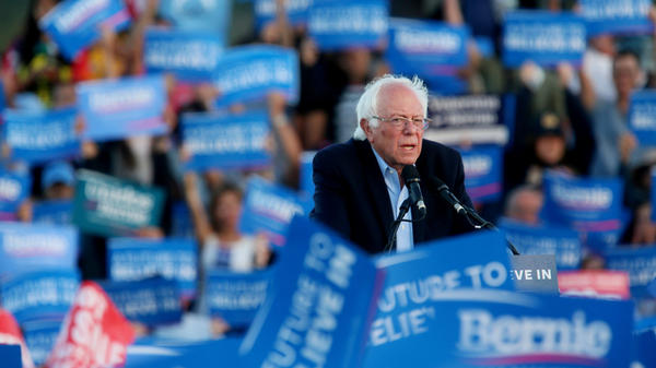 Democratic presidential candidate Sen. Bernie Sanders of Vermont inspired millions of loyal supporters, some of whom chose not to support Hillary Clinton in the general election in 2016.