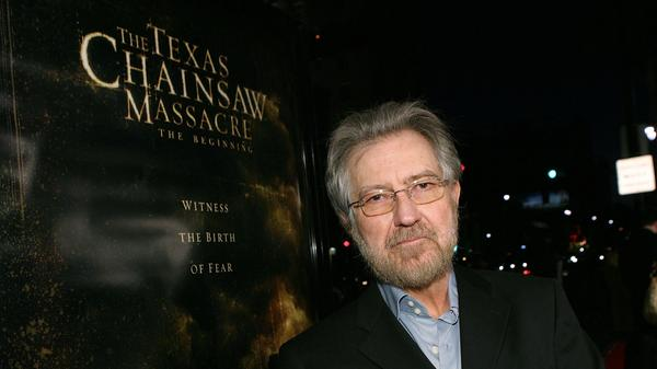 Tobe Hooper arrives at the premiere of New Line's <em>Texas Chain Saw Massacre: The Beginning</em> at Grauman's Chinese Theatre in 2006 in Los Angeles, Calif.