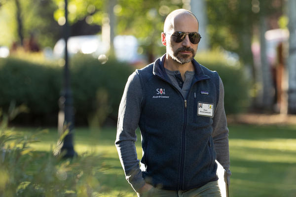 Dara Khosrowshahi, chief executive officer of Expedia, has been chosen to lead Uber, as it seeks to overcome a string of recent scandals.