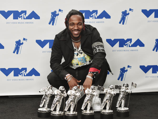 Kendrick Lamar won Video of the Year and Best Hip Hop Video, among four other prizes, at the 2017 MTV Video Music Awards.