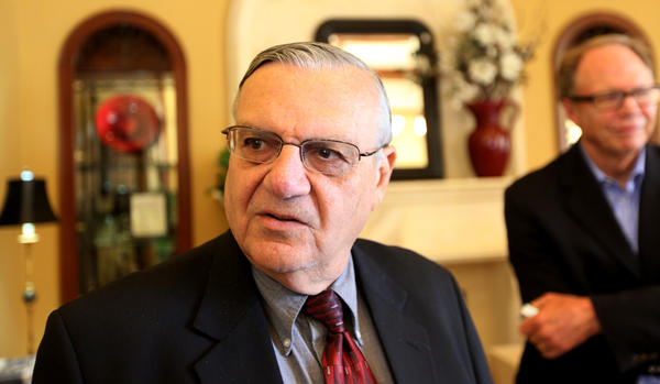 Former Maricopa County, Ariz., Sheriff Joe Arpaio, seen in 2010, was pardoned by President Trump on Friday.
