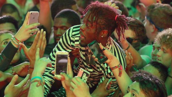 Lil Uzi Vert, caught surfing the crowd at Coachella last April, released his album <em>Luv Is Rage 2</em> last week.