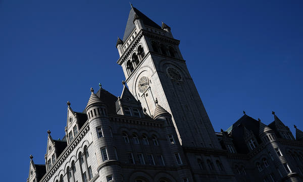 Rep. Peter DeFazio, D-Ore., is raising questions about the ownership of the Trump International Hotel in Washington, D.C., located blocks from the White House.