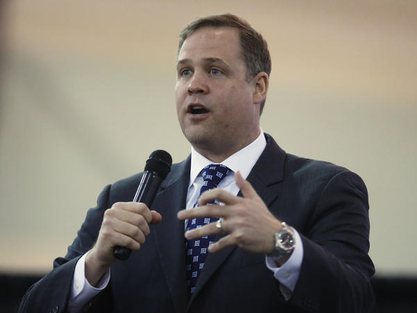 Rep. Jim Bridenstine, R-Okla., President Trump's choice to lead NASA, is former director of the Tulsa Air & Space Museum.