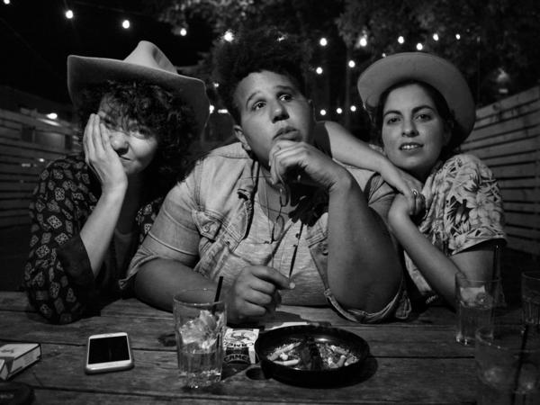 From left, Jesse Lafser, Brittany Howard and Becca Mancari of Bermuda Triangle.