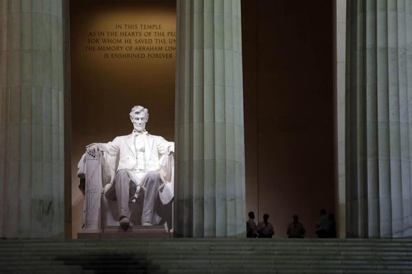 The Lincoln Memorial in Washington D.C. (Alex Brandon/AP)