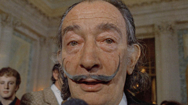 Salvador Dalí, photographed in 1973, was found not to be the biological father of the woman whose paternity claims led to his body being exhumed, according to his foundation.