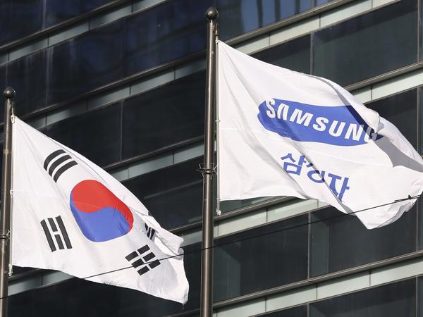 Samsung's smartphones have become big sellers in the United States and elsewhere, and that has helped lead to a stubborn trade gap with South Korea.
