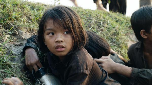 Sareum Srey Moch plays a young Loung Ung in Netflix's <em>First</em> <em>They Killed My Father.</em>