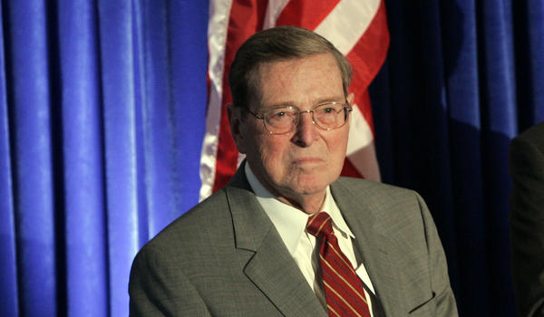 Pete Domenici served six terms in the U.S Senate.