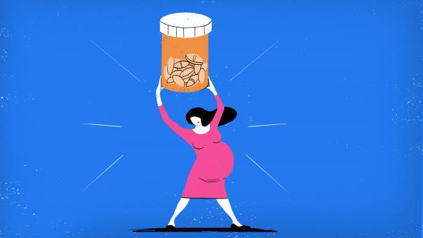 """While benzodiazepines and SSRI antidepressants are not risk-free, says Yale psychiatrist Kimberly Yonkers, """"it should be reassuring that we're not seeing a huge magnitude of an effect here"""" on pregnancy."""