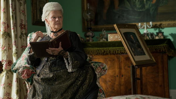 Amusing, But Not Amused: Judi Dench stars as the Queen of England and the Empress of India in <em>Victoria and Abdul</em>.
