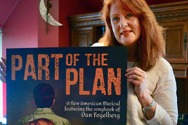 Kathleen O'Brien, president and CEO of Tennessee Performing Arts Center, is such a fan of Dan Fogelberg that she's bringing TPAC in as co-producer. (Mack Linebaugh/WPLN)