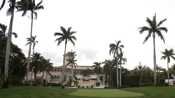 Mar-a-Lago Club, owned by President Trump, in Palm Beach, Fla.