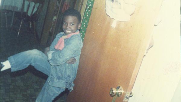 Gucci Mane as a child.