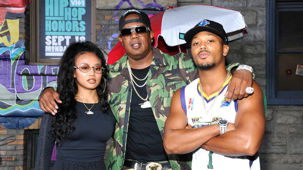 Master P at VH1's <em>Hip-Hop Honors: The '90s Game Changers</em> this week, in attendance with his daughter, Cymphonique Miller, and son, Romeo.
