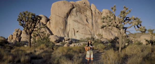 Nancy Sanchez took to Joshua Tree National Park to film her new video.