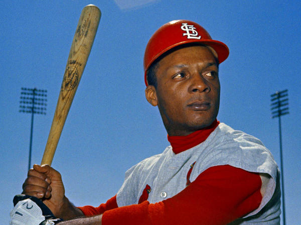 "St. Louis Cardinals outfielder Curt Flood in March 1968. He helped lay the groundwork for modern free agency after he declared that he was a ""well-paid slave."""