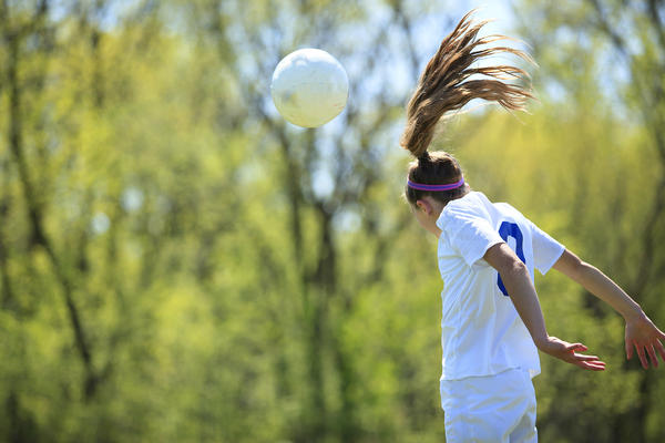 Teens involved in contact sports were more likely to report concussions.