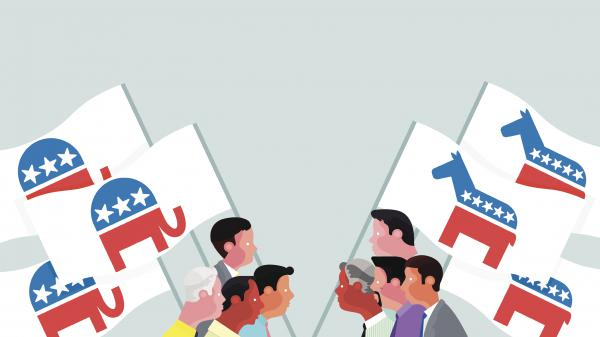 Democrats and Republicans often have trouble seeing one another's perspectives. Researchers think this might be driven in part by their earliest experience of power — the family.