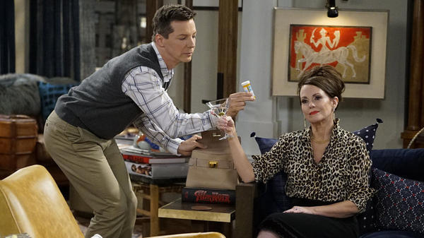 Sean Hayes and Megan Mullally once again play Jack McFarland and Karen Walker in NBC's <em>Will & Grace</em>.