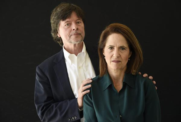 "Ken Burns, left, and Lynn Novick, co-directors of ""The Vietnam War."" (Chris Pizzello/Invision/AP)"